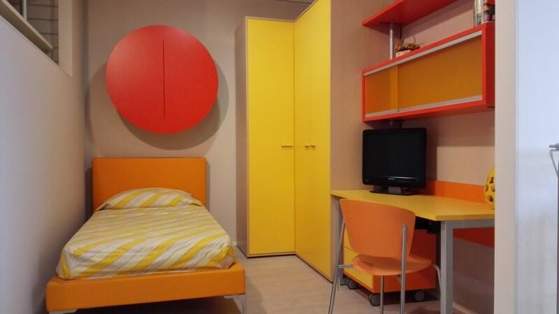 Camera Singola Arancione